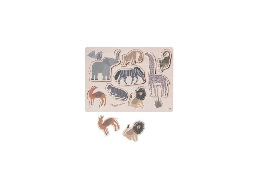 Ferm Living - Safari Puzzle