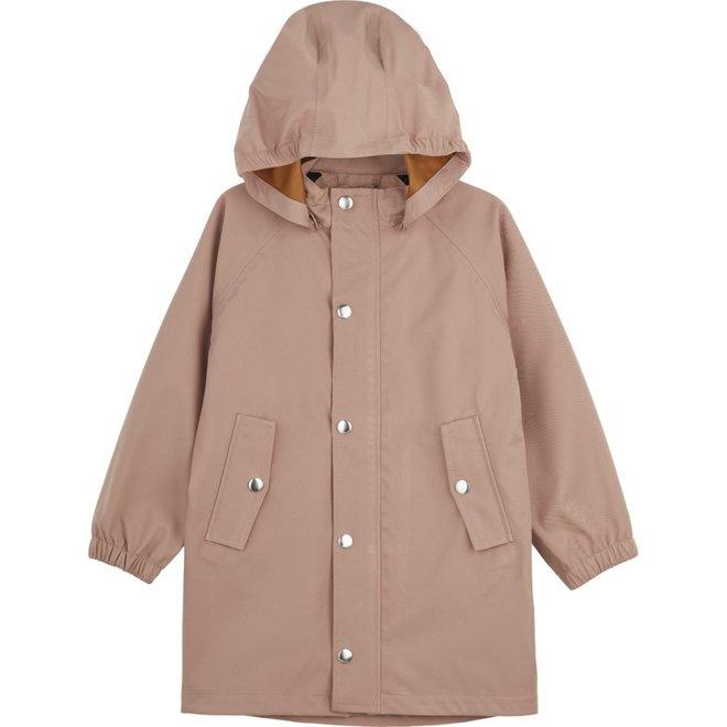Liewood - Spencer long raincoat - Dark Rose