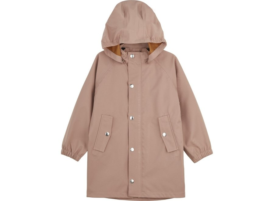 Liewood - Spencer long raincoat - Dark Rose