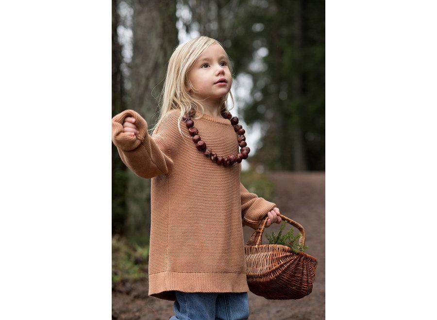I Dig Denim - Mist Sweater - Kid