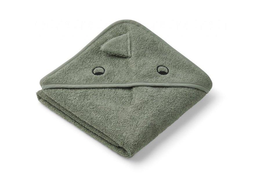 Geboortelijst Fien - Liewood - Albert Hooded Towel - Dino