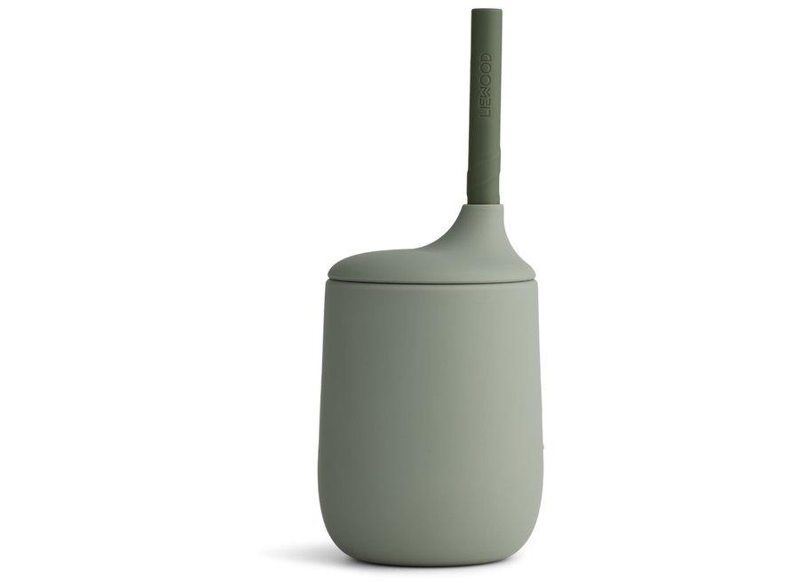 Geboortelijst Fien - Liewood - Ellis Sippy Cup - Faune green/hunter green mix