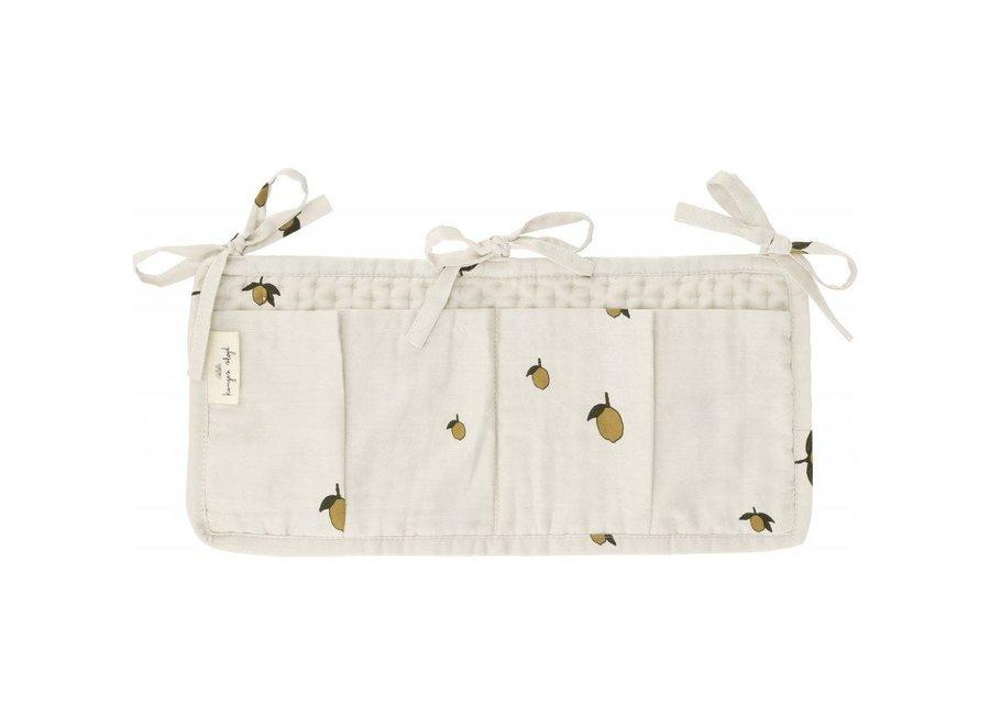 Konges Slojd - Quilted Bed Pockets - Lemon
