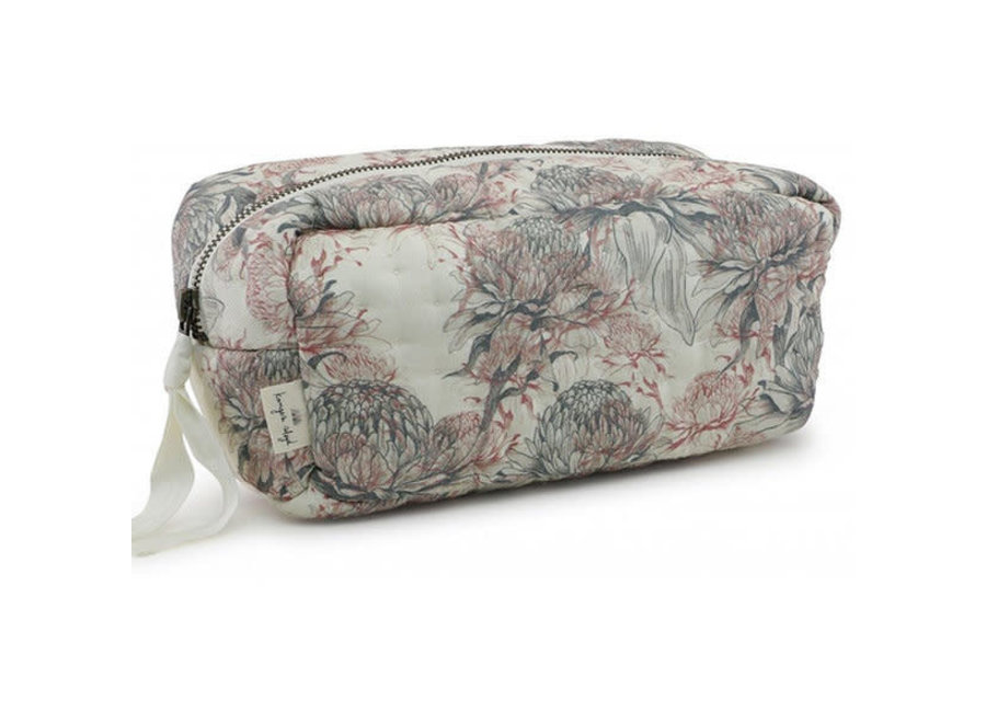 Konges Slojd - Quilted Toiletry Bag - Chardon