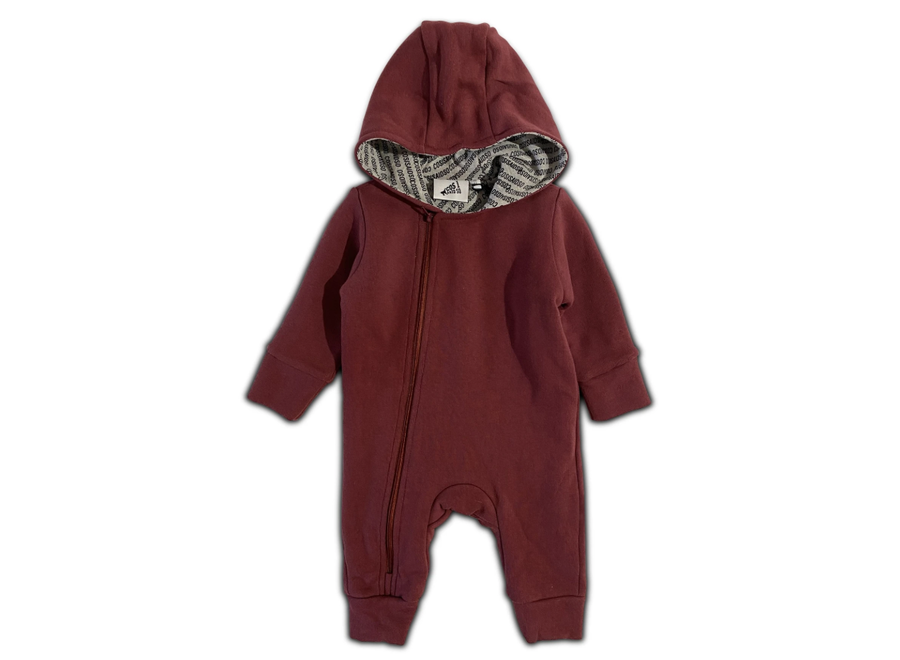 Cos I Said So - Hooded Playsuit - Roan