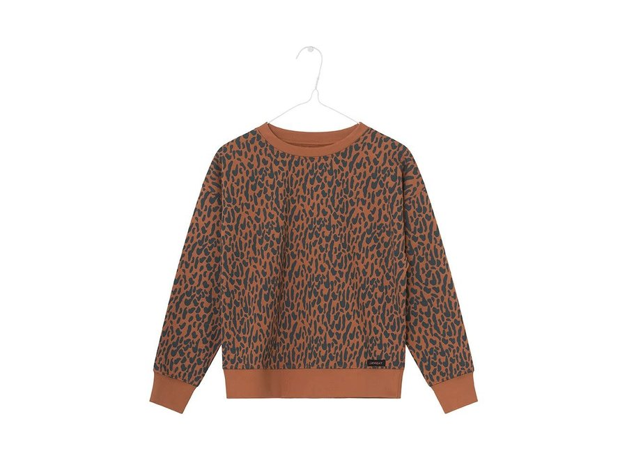 A Monday In Copenhagen - Louis Blouse Animal Print