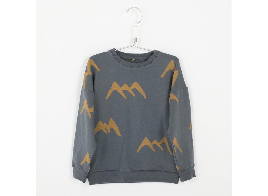 Lötiekids - Sweatshirt Mountains - Dark Grey