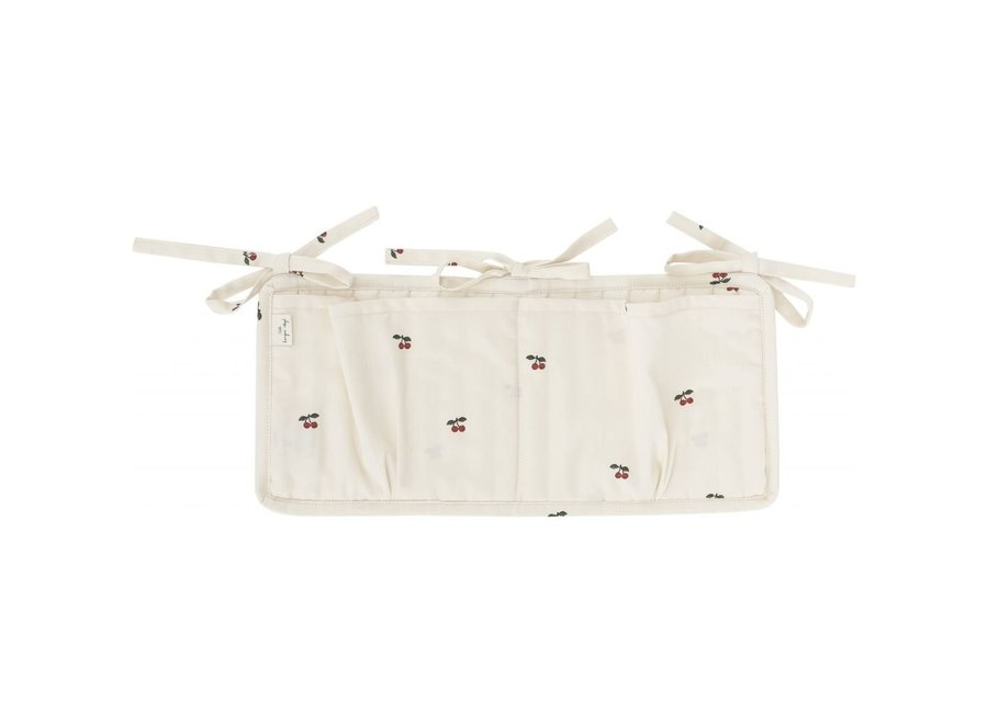 Konges Slojd - Quilted Bed Pockets - Cherry