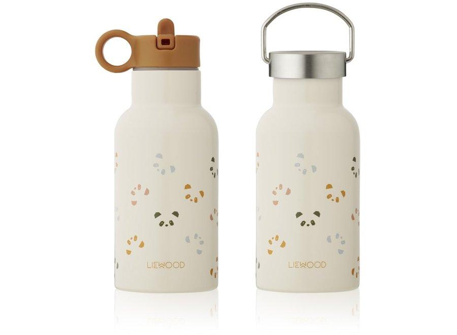 Liewood - Anker Water Bottle - Panda Multi Mix