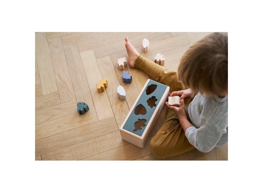 Liewood - Midas Puzzle box - Dino mix