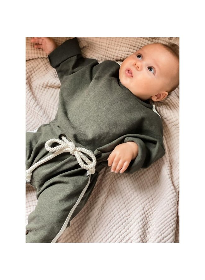 BONNIE & THE GANG - SULLY jumpsuit Olive