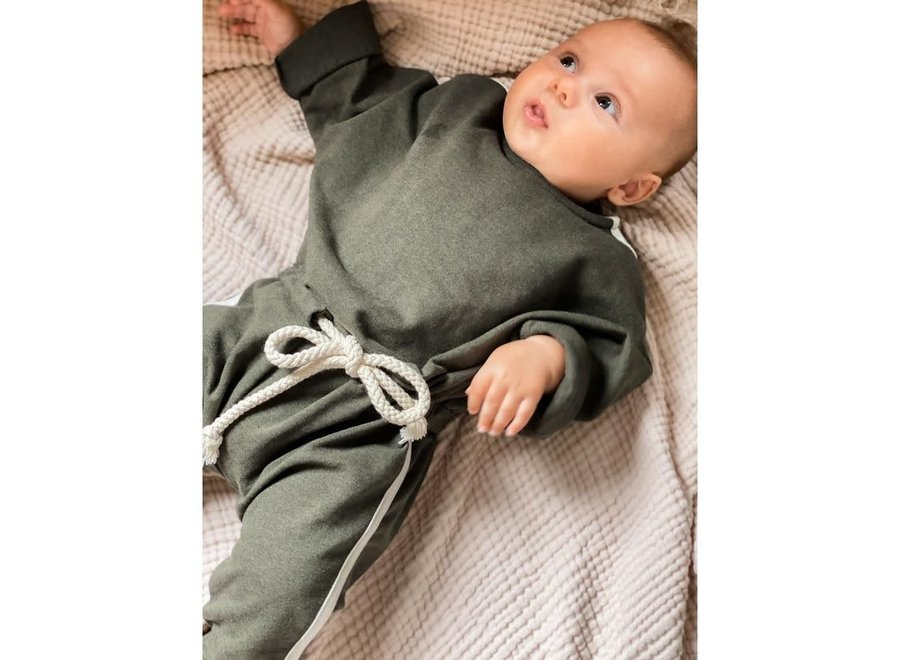 BONNIE & THE GANG - SULLY jumpsuit Olive (Soon)