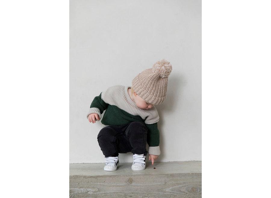 I Dig Denim - Bo Block Knitted Sweater - tot 2 jaar