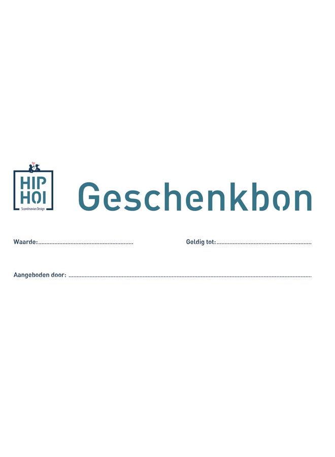 Geboortelijst Veerle - Geschenkbon HIP HOI - 25 euro