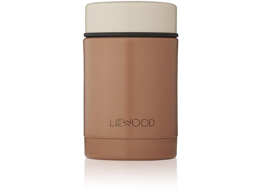 Liewood - Nadja Food Jar - Cat Tuscany Rose