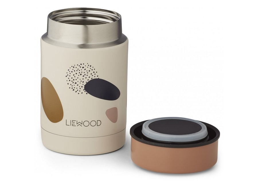 Liewood - Nadja Food Jar - Bubbly Sandy