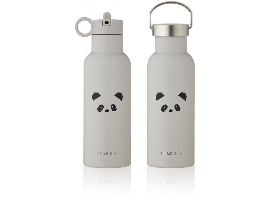 Liewood - Neo Water Bottle - Panda Light Grey