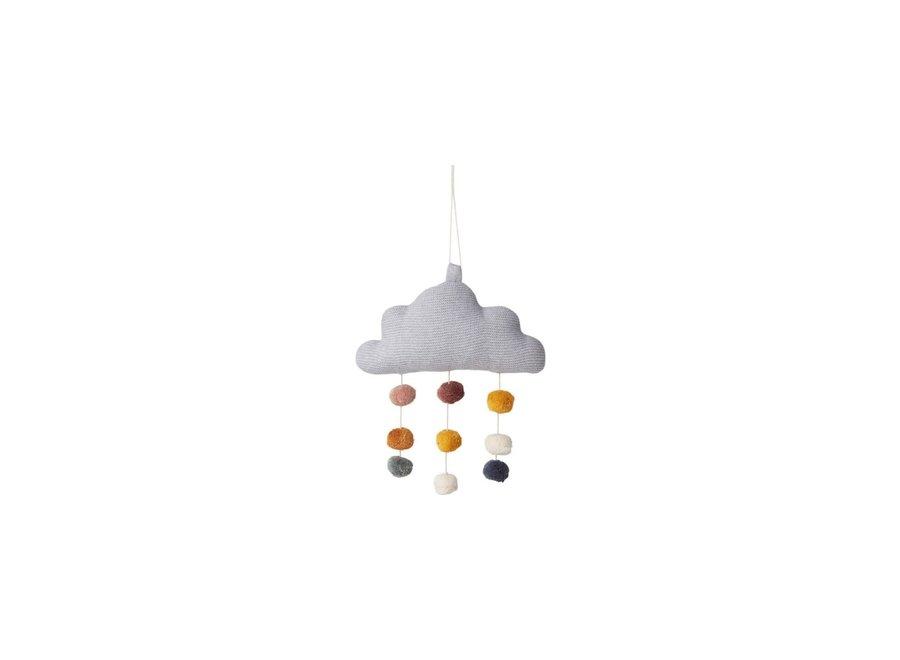 Geboortelijst Maaike - Liewood - Mimi Cloud Mobile - Grey Melange