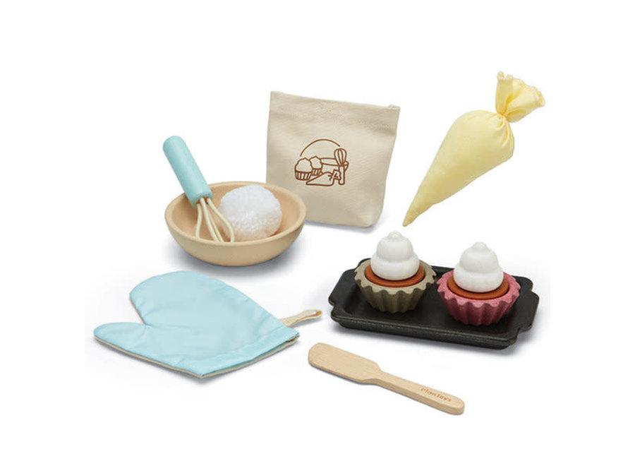 Plan Toys - Cupcake Set