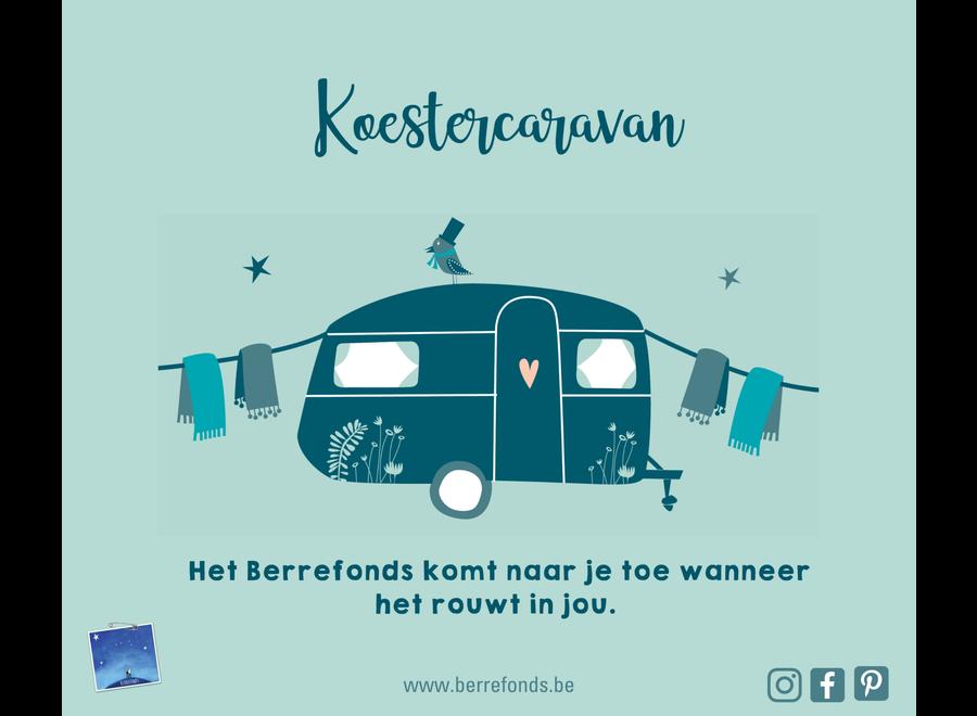 Steun vzw Berrefonds - Project Koestercaravan