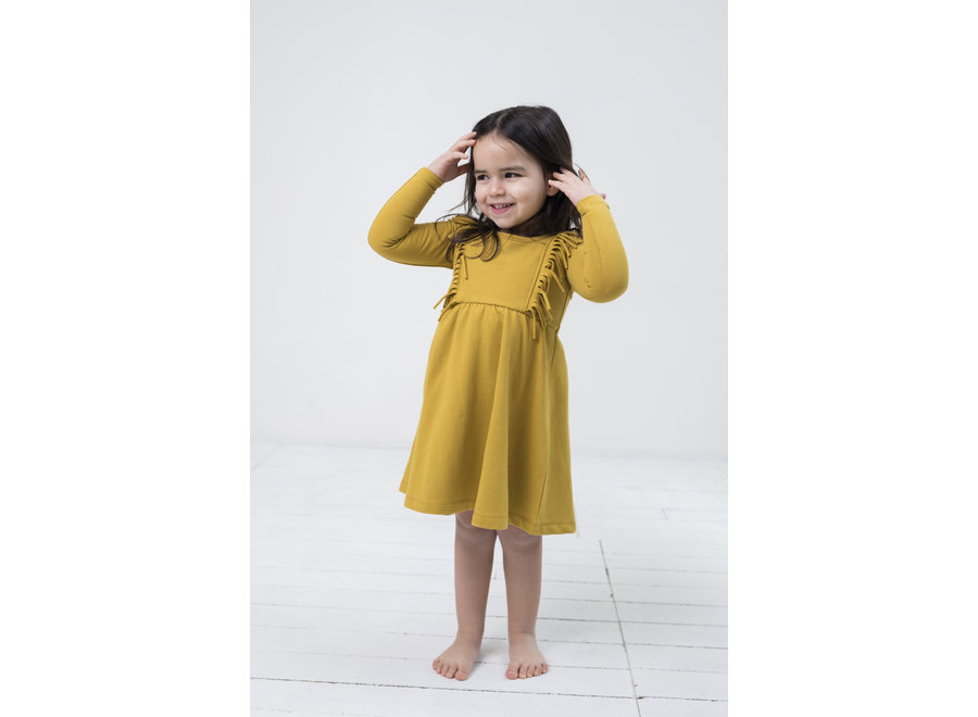 Little Indians - Boho Dress - Honey