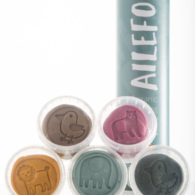 Ailefo - Organic Modelling Clay Basic - Small Tube