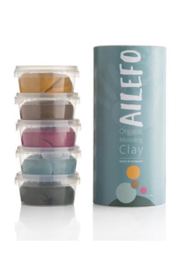 Ailefo - Organic Modelling Clay Basic - Large Tube