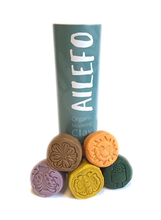 Ailefo - Organic Modelling Clay Forest - Small Tube