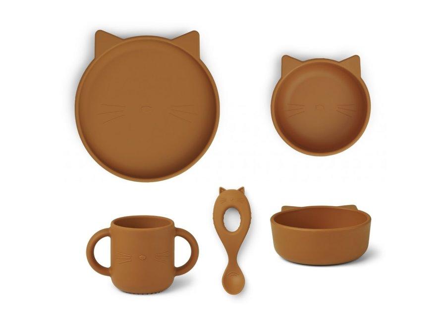 Liewood - Vivi set - Cat Mustard