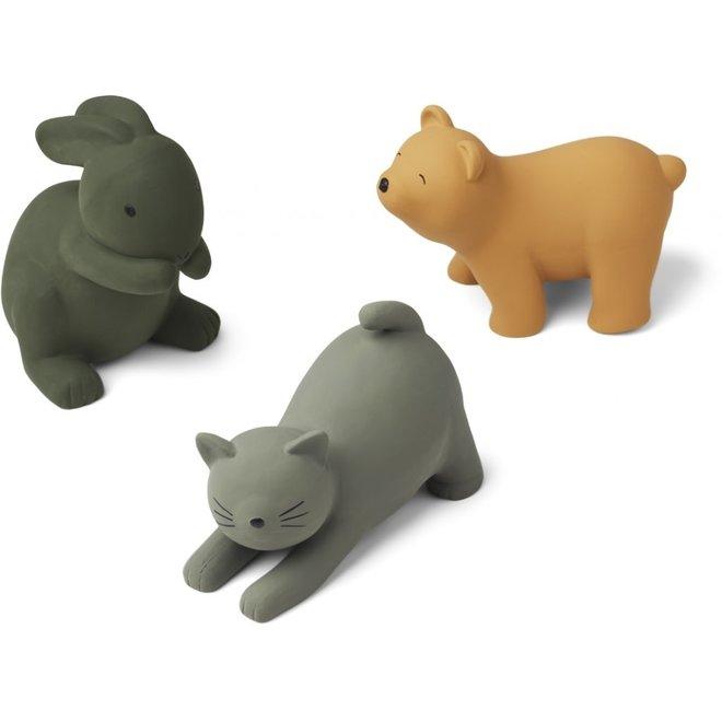 Liewood - David toys 3-pack - Green Multi Mix