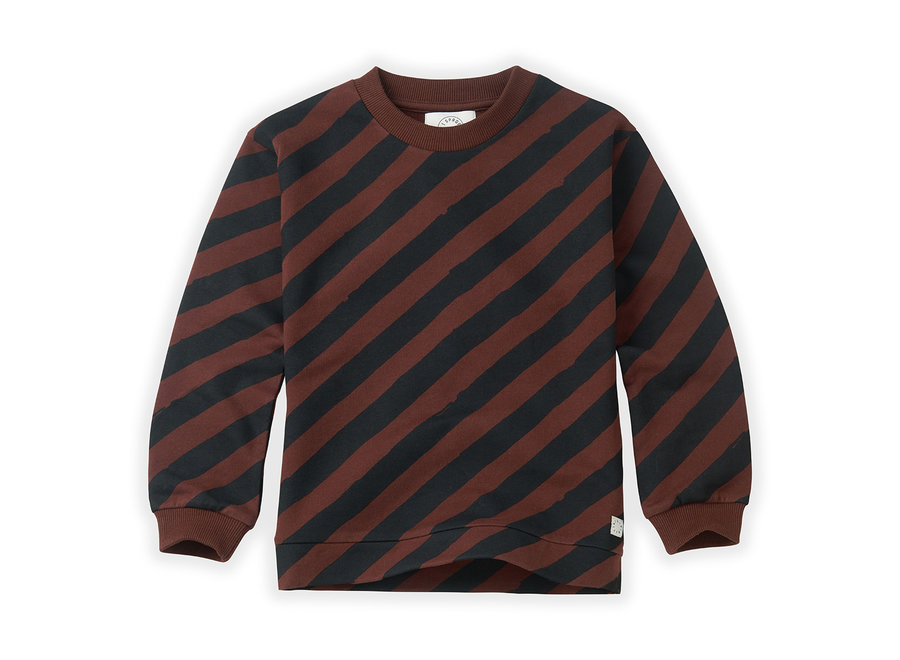 Sproet & Sprout - Sweatshirt Painted Stripe