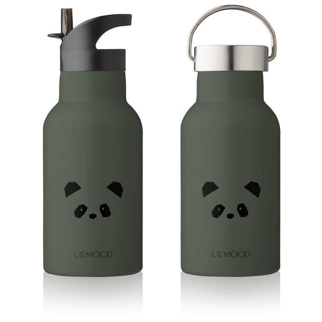 Geboortelijst Sofie -  Liewood - Anker Bottle - Panda Hunter Green