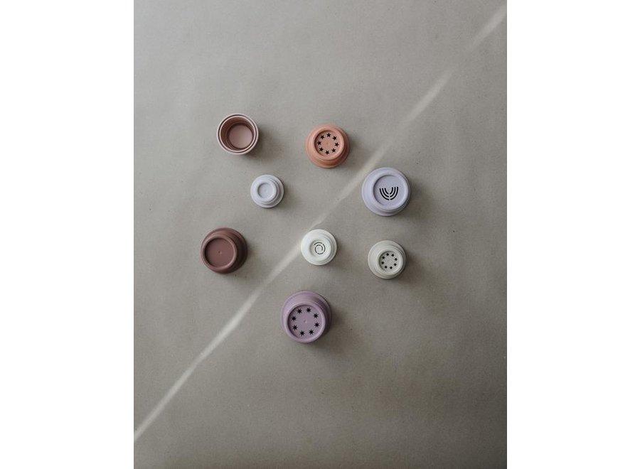 Mushie - Stacking Cups Pastel