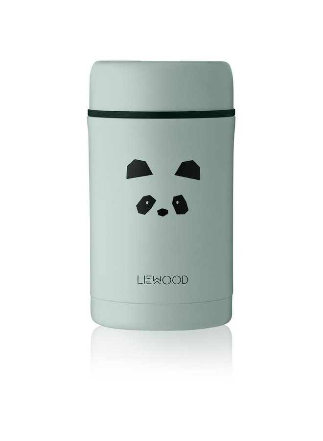 Liewood - Bernard Food Jar - Panda Peppermint