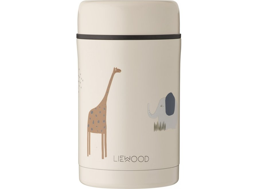 Liewood - Bernard food jar - Safari Sandy