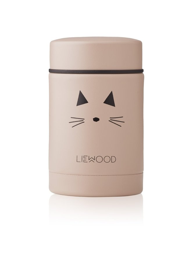 Liewood - Nadja Food Jar - Cat Rose