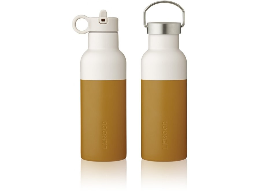 Liewood - Neo Water bottle - MUstard / Sandy mix