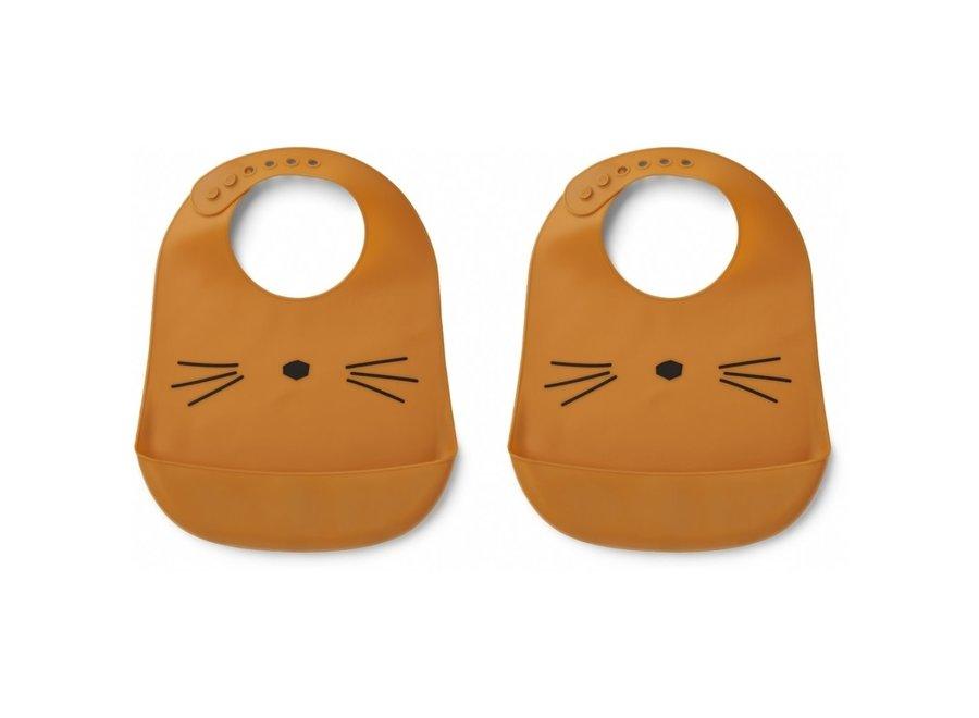 Geboortelijst Elisabeth - Liewood - Tilda Cat Mustard