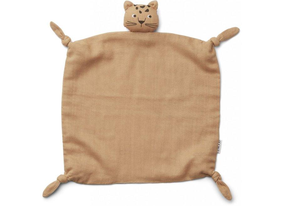 Liewood - Agnete cuddle cloth - Leopard Apricot