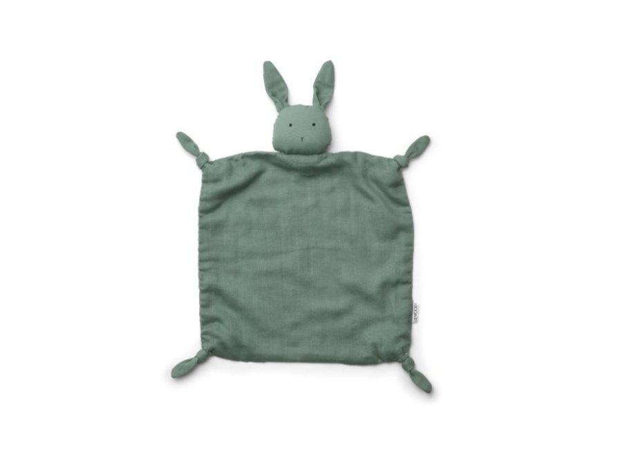 Liewood - Agnete cuddle cloth - Rabbit Peppermint
