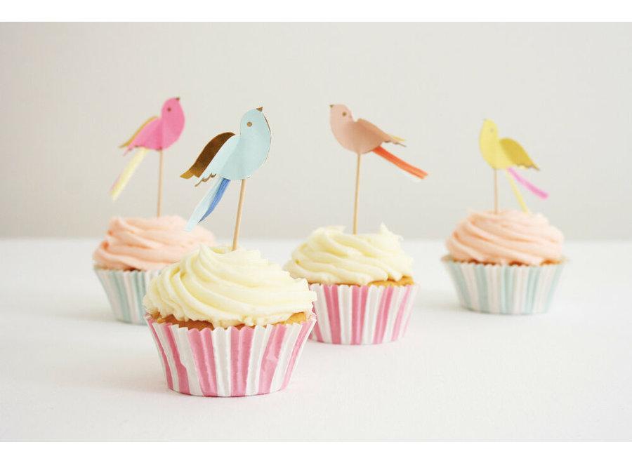 Pretty Birdies cupcake