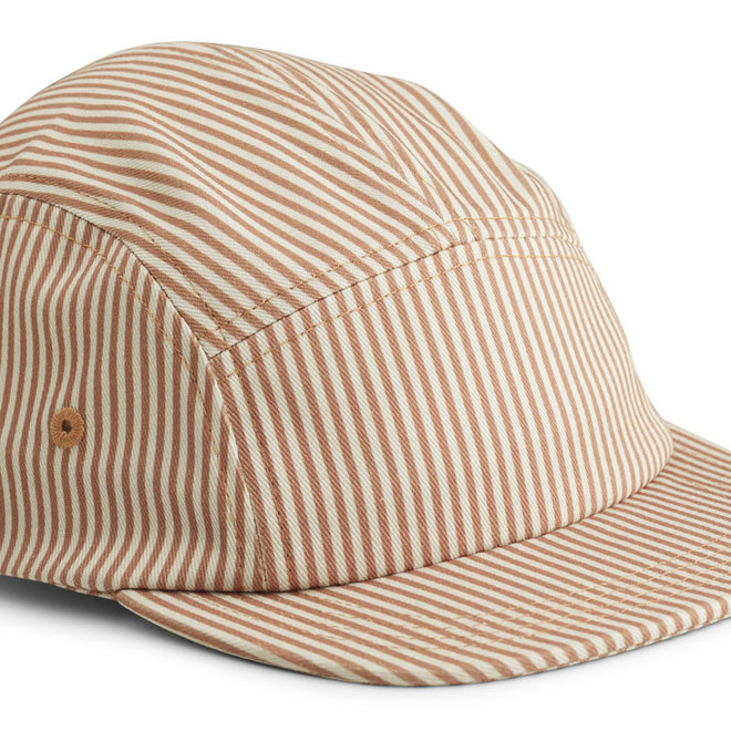 Liewood - Rory cap - Stripe Tuscany rose / sandy