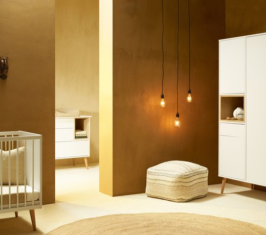 Kamer Cocoon Ice White