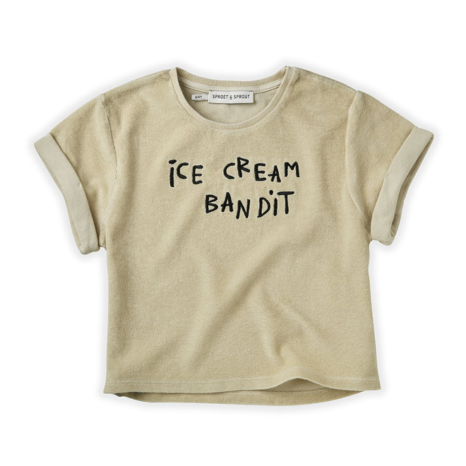 Sproet & Sprout - Sweat T-shirt Terry Icecream Bandit