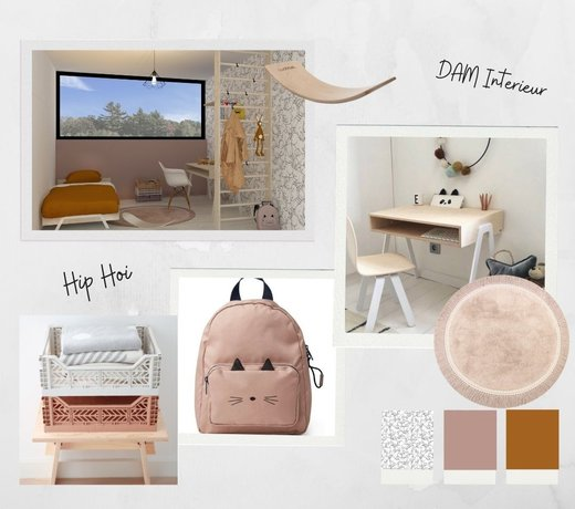 Moodboards and 3D floor plans