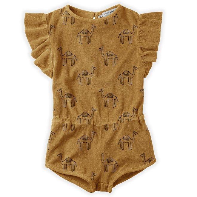 Sproet & Sprout - Jumpsuit Print Camel