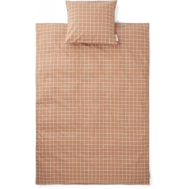 Liewood - Bedding print Check / Tuscany rose