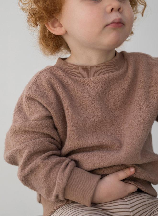 Phil & Phae - Oversized teddy sweater - Creamy mocha