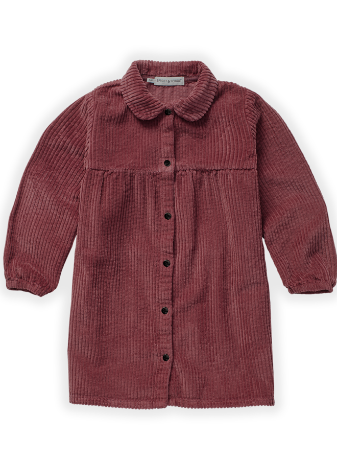 Sproet & Sprout - Dress Corduroy Fig