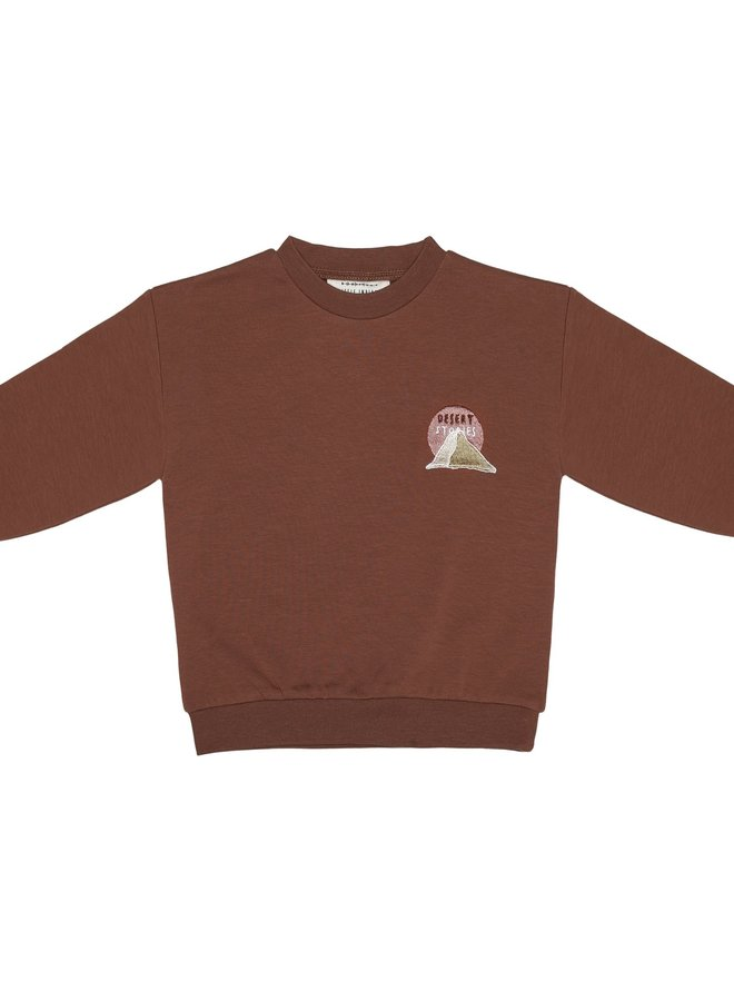 Little Indians - Sweater Desert Stories Pale red